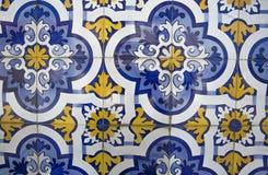 Mattonelle decorative portoghesi decorate tradizionali fotografie stock