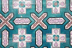 Mattonelle decorative portoghesi decorate tradizionali immagine stock