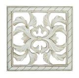 Mattonelle decorative quadrate Fotografie Stock