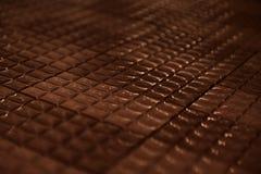 Mattonelle del cioccolato Fotografia Stock Libera da Diritti