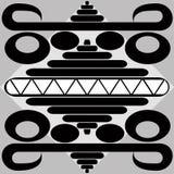 Mattonelle del Maya Immagini Stock