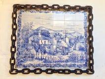 Mattonelle del paesaggio del Portoghese fotografie stock