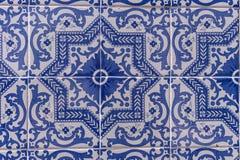 Mattonelle del Portoghese di Azulejos Fotografia Stock