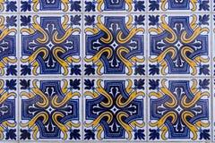 Mattonelle del Portoghese di Azulejos Immagini Stock Libere da Diritti