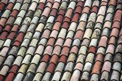 Mattonelle dell'italiano del tetto Immagini Stock Libere da Diritti