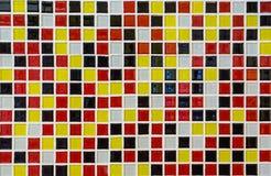 Mattonelle della parete del mosaico Fotografia Stock Libera da Diritti