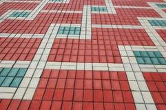 Mattonelle della pavimentazione Fotografia Stock