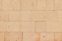 Mattonelle della pietra di Brown, fondo Immagine Stock