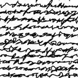 Mattonelle della scrittura a mano Immagine Stock