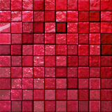 Mattonelle della stanza da bagno astratta rosse Fotografie Stock