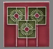Mattonelle di Art Nouveau fra 1900-1930 dalla Germania Immagini Stock Libere da Diritti