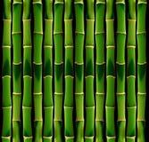 Mattonelle di bambù Fotografia Stock