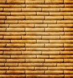 Mattonelle di bambù Immagine Stock