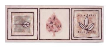 Mattonelle di ceramica fotografia stock