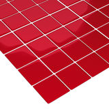 Mattonelle di colore rosso del pavimento Fotografie Stock Libere da Diritti