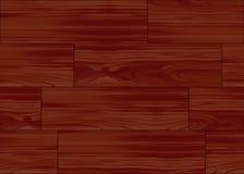 Mattonelle di legno del reticolo del pavimento di parchè Fotografia Stock Libera da Diritti