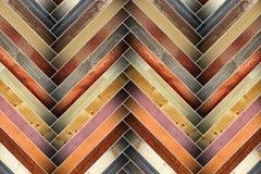 Mattonelle di legno variopinte Fotografia Stock
