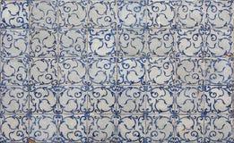 Mattonelle di Lisbona fotografia stock libera da diritti