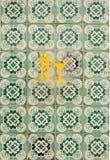 Mattonelle di Lisbona Immagini Stock Libere da Diritti