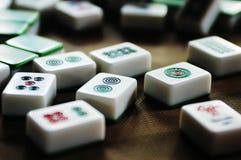 Mattonelle di Mahjong Fotografia Stock Libera da Diritti