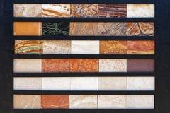 Mattonelle di marmo Immagine Stock