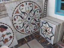 Mattonelle di marmo Immagine Stock Libera da Diritti
