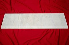 Mattonelle di marmo bianche della finestra di Ruschita Fotografia Stock