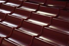 Mattonelle di metallo Fotografie Stock