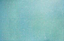 Mattonelle di mosaico del turchese Fotografie Stock Libere da Diritti