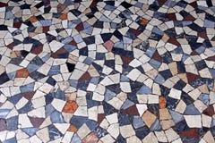 Mattonelle di mosaico di terrazzo Immagine Stock
