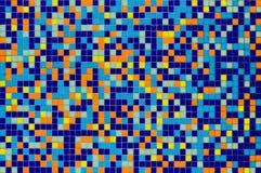 Mattonelle di mosaico multicolori fotografia stock
