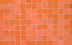Mattonelle di mosaico nella stanza da bagno Immagini Stock Libere da Diritti