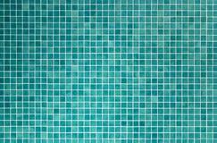 Mattonelle di mosaico verdi per la stanza da bagno e la cucina Fotografia Stock Libera da Diritti