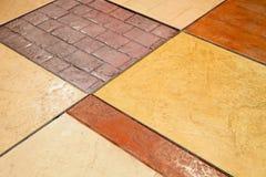 Mattonelle di pavimento fotografia stock
