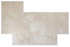 Mattonelle di pavimento di marmo Immagini Stock Libere da Diritti