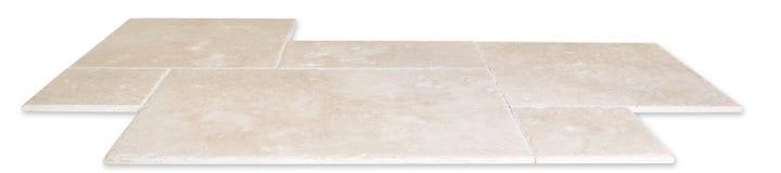 Mattonelle di pavimento di marmo Fotografia Stock