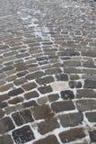 Mattonelle di pietra medievali Fotografia Stock Libera da Diritti