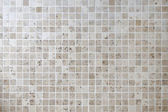 Mattonelle di pietra naturali della parete del quadrato del mosaico Fotografia Stock Libera da Diritti