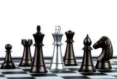 Mattonelle di scacchi Immagine Stock