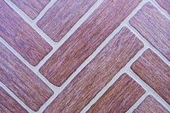 Mattonelle di superficie diagonali. Immagine Stock