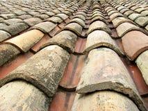 mattonelle di tetto 01 Fotografia Stock
