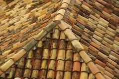 Mattonelle di tetto 15 Fotografia Stock Libera da Diritti