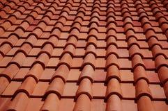 Mattonelle di tetto Immagine Stock Libera da Diritti