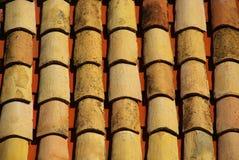 Mattonelle di tetto 19 Fotografia Stock Libera da Diritti