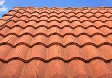 Mattonelle di tetto Fotografia Stock