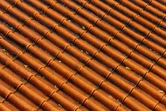 Mattonelle di tetto Immagini Stock Libere da Diritti