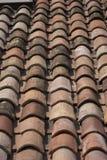 Mattonelle di tetto Immagini Stock