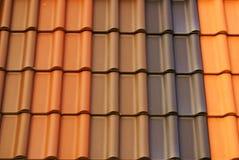 Mattonelle di tetto, Fotografie Stock