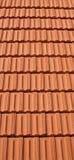 Mattonelle di tetto Fotografie Stock Libere da Diritti