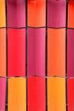 Mattonelle di tetto colorate di collegamento variopinte Immagini Stock Libere da Diritti
